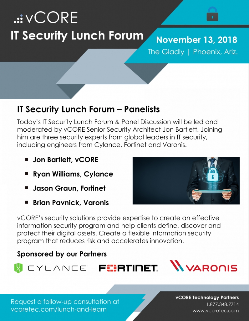 vCORE IT Security Forum